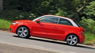 Audi A1 panning