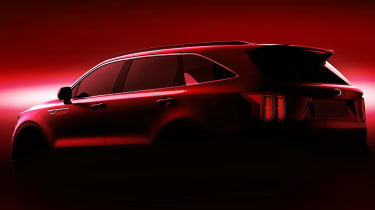 Kia Sorrento - teaser rear