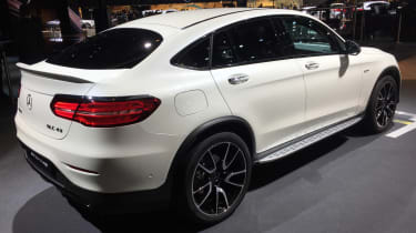 Mercedes-AMG GLC 43 Coupe - paris rear quarter