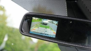 Ford Transit - rear-view mirror