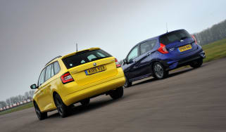 Skoda Fabia Estate vs Nissan Note