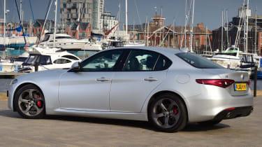 Alfa Romeo Giulia - Rear Still