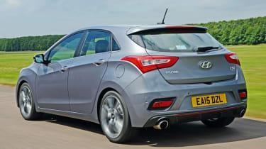 Hyundai i30 Turbo - rear tracking
