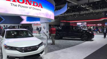 2016 LA Motor Show - Honda
