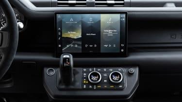 Land Rover Defender V8 - infotainment