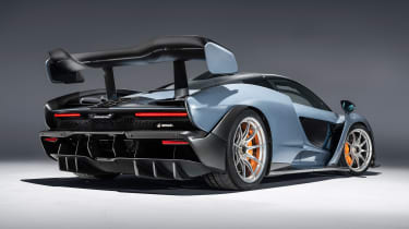 McLaren Senna - grey rear