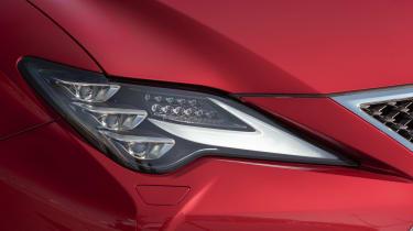Lexus RC headlight