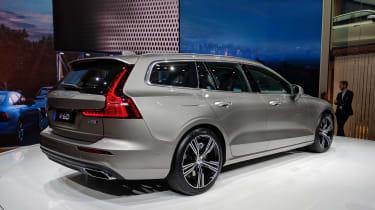 Volvo V60 geneva 2018 rear