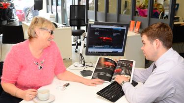 Long-term test review Mazda MX-5 - Lesley showroom
