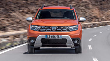 Dacia Duster facelift - full front