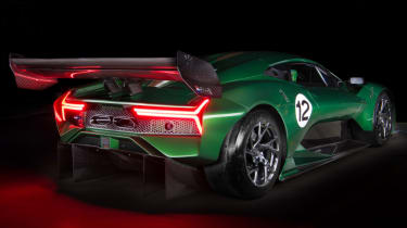 Brabham BT62 rear