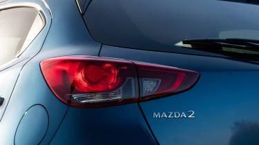 Mazda 2 - rear light