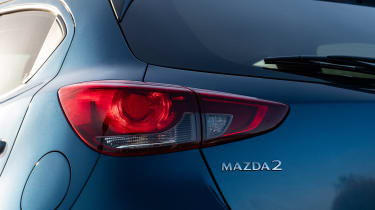 Mazda 2 - rear light