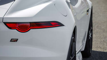 Jaguar F-Type Chequered Flag - rear detail