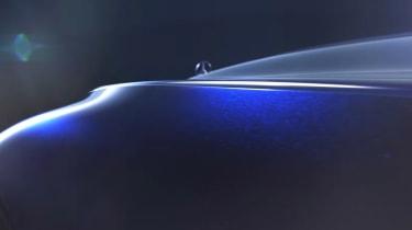 Mercedes concept teaser screengrab bonnet