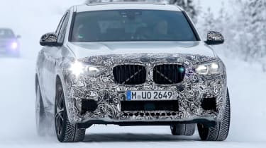 BMW X4 M front grille