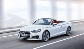 New Audi A5 Cabriolet 2017 front