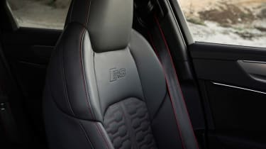 Audi RS 6 Avant - seat detail