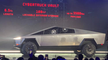Tesla Cybertruck launch event LA
