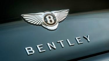 Bentley Continental GT Convertible - Bentley badge