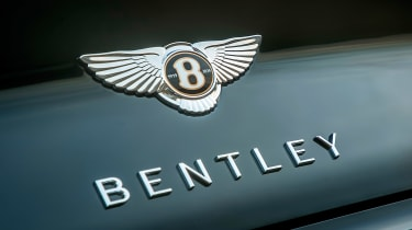 Bentley Continental GT Convertible - Bentley badge