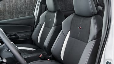 Toyota Yaris GR Sport revealed - seats