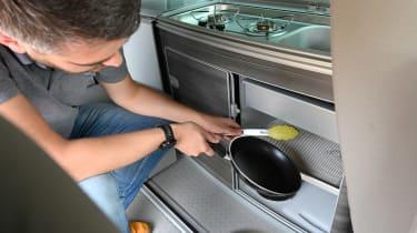 Volkswagen California Ocean long termer - first report utensils