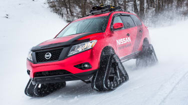 Nissan Winter Warrior concept - front cornering