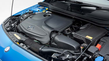 Used Mercedes A-Class - engine