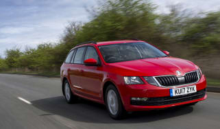 Skoda Octavia Estate 2017 facelift front