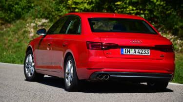 New Audi A4 2016 rear