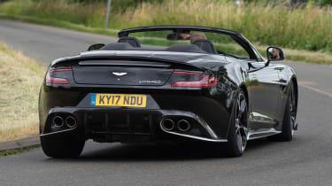 Aston Martin Vanquish S Volante - rear