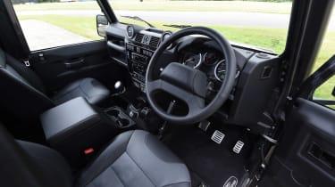 Land Rover Defender 110 Adventure interior