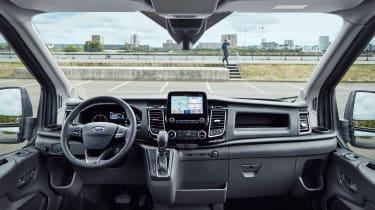 New Ford Transit interior
