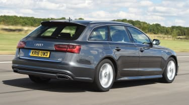 Audi A6 Avant - rear tracking