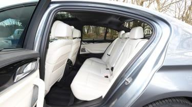 BMW 5 Series 2017 - 540i rear seats