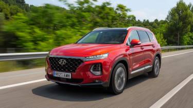 Hyundai Santa Fe - front tracking