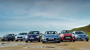 Best 1.5-litre cars from the past and present - group
