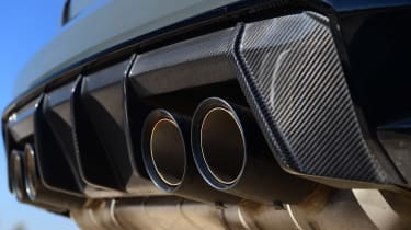 BMW M4 Competition - exhausts