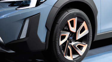 Subaru XV concept - wheel