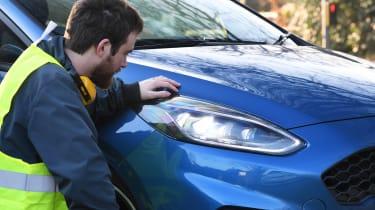 Ford Fiesta ST - long termer final report front light