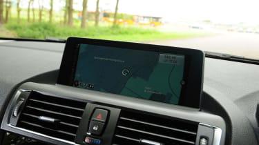 BMW 1 Series - sat nav