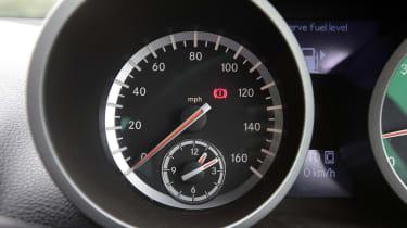 Used Mercedes SLK - dials detail