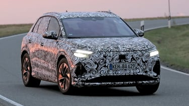 Audi Q4 e-tron - spyshot 1