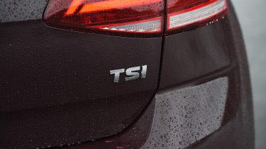 Volkswagen Golf 1.0 petrol - TSI badge