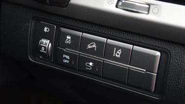 SsangYong Rexton - buttons