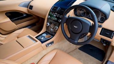 Aston Martin Rapide S 2014 interior