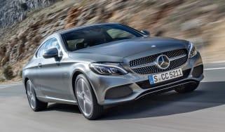 Mercedes C300 Coupe - front