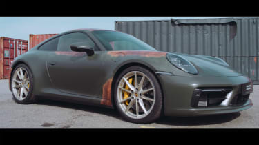 Porsche Paint to Sample