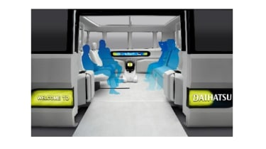 Daihatsu IcoIco - interior